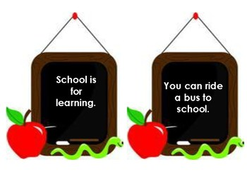 Back to School Compare and Contrast