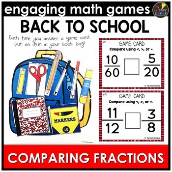 Back to School Comparing Fractions