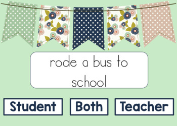 Back to School Comparing a Teacher and a Student