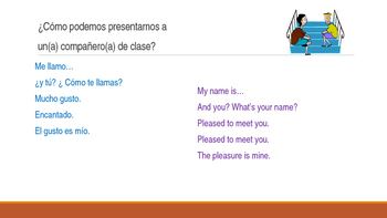 Back to School Conversations for Spanish 2-3