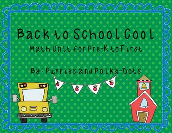 Back to School Cool Math Unit