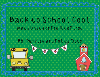 Back to School Cool Math Unit
