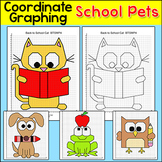 School Pets Coordinate Graphing Ordered Pairs: Back to Sch