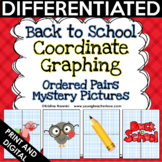 Back to School Activities - Coordinate Graphing Pictures - Ordered Pairs