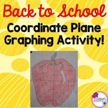 Back to School Math Coordinate Graphing Picture