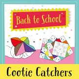 Cootie Catchers - Ice Breaker & Team Building (English)