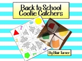 Back to School Cootie Catchers - A Fun Way to Start the Year!