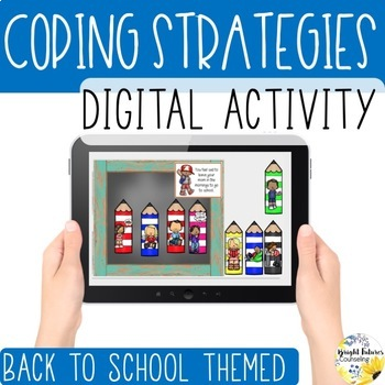 Distance Learning Back to School Coping Strategies Digital Activity