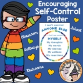 Back to School Counseling Poster about Only Being Able to Control Myself