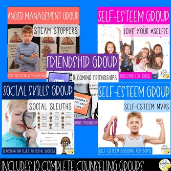 Back to School Counseling SUPER BUNDLE