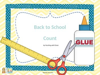 Back to School Count: 1-10 Cards