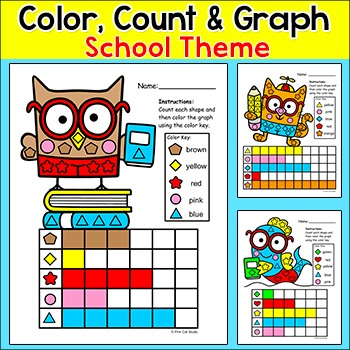 Back to School Activities Graphing Shapes