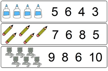 Back to School Counting 1-10