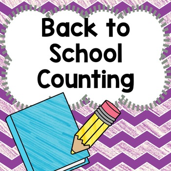 Back to School Counting 1-20