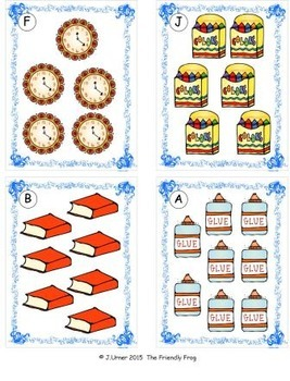 Back to School Counting, Addition & Subtraction: Write the Room