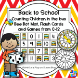 Back to School, Counting Children in the bus, Bee Bot Mat and Games