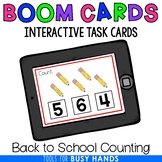 Counting 1-10 Interactive Digital Task Cards (Boom! Deck):