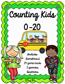 Back to School ~ Counting Kids on a Bus 0-20
