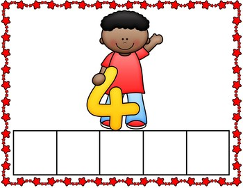 Back to School Counting Mats