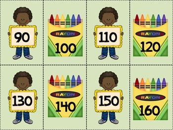Back to School Counting On (2's, 5's, 10's)