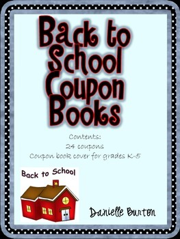 Back to School Coupons {Color Version}