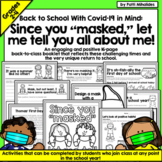 Back to School | Covid-19 | Activities for the first day o