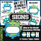 Back to School Covid Coronavirus Health Awareness Posters