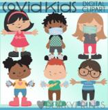 Back to School Covid Kids - Face Masks, Hand Washing, Soci