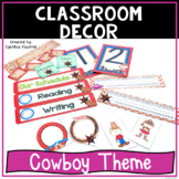 Back to School Classroom Decor Cowboy Theme