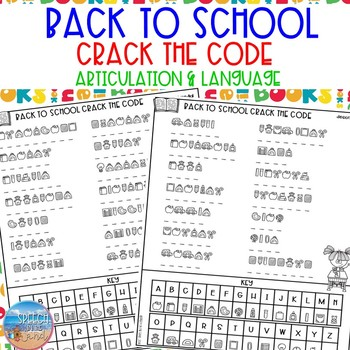 Crack the Code: Back to School Edition