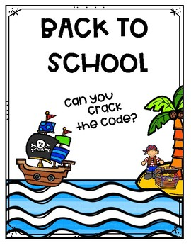 Back to School Crack the Code! FREE