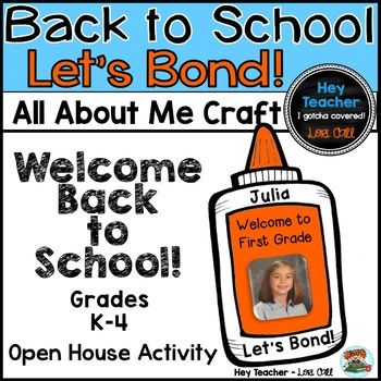 Back to School Craft: All About Me