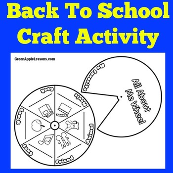 Back to School Craft   Back to School Activity   Back to School Kindergarten