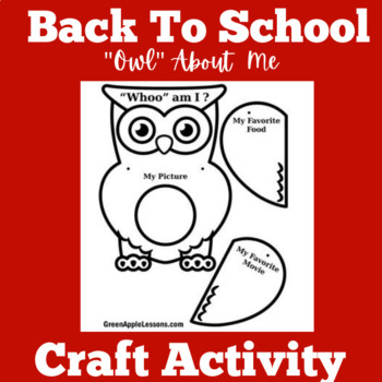 Back to School Craft | Back to School Activity | Back to S