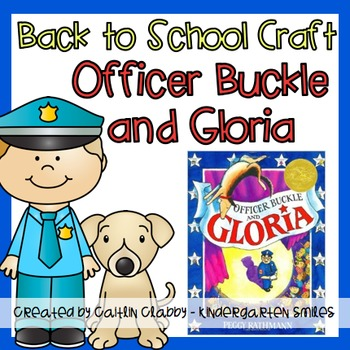 Back to School Craft with Officer Buckle