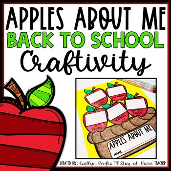 Back-to-School Craftivity - Apples About Me