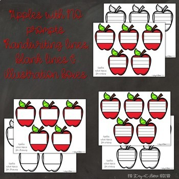 Back to School Craftivity Apples About Me