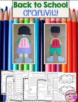 Back to School Craftivity, Printables and Mini Book!
