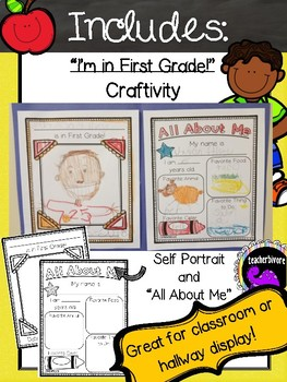 Back to School Craftivity for First Grade