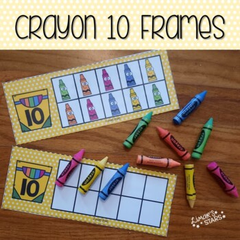 Back to School Crayon 10 Frames