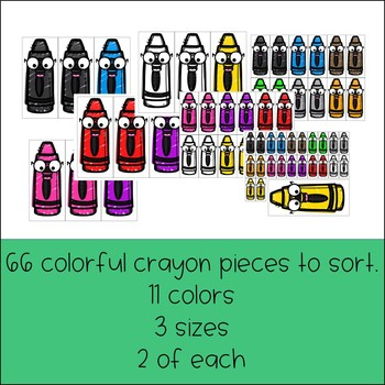 Back to School Crayon Sort