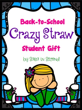 Back-to-School Crazy Straw Student Gift