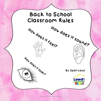 Back to School Creating Rules