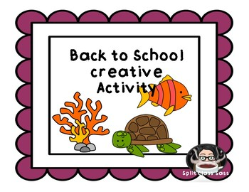 Back to School Creative Colouring Project