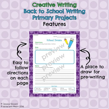 Back to School Creative Writing Projects Primary Edition