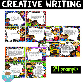 Back to School Creative Writing Prompts