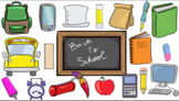 Back to School- Cliparts- Creator Kit: ADD-ON- For Persona