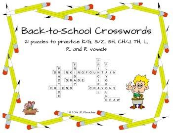 Back-to-School Crosswords