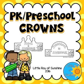 Back to School Crowns - Preschool / PK