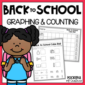 Back to School Cube Roll Game